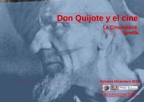 Cartel Don quijote y el cine