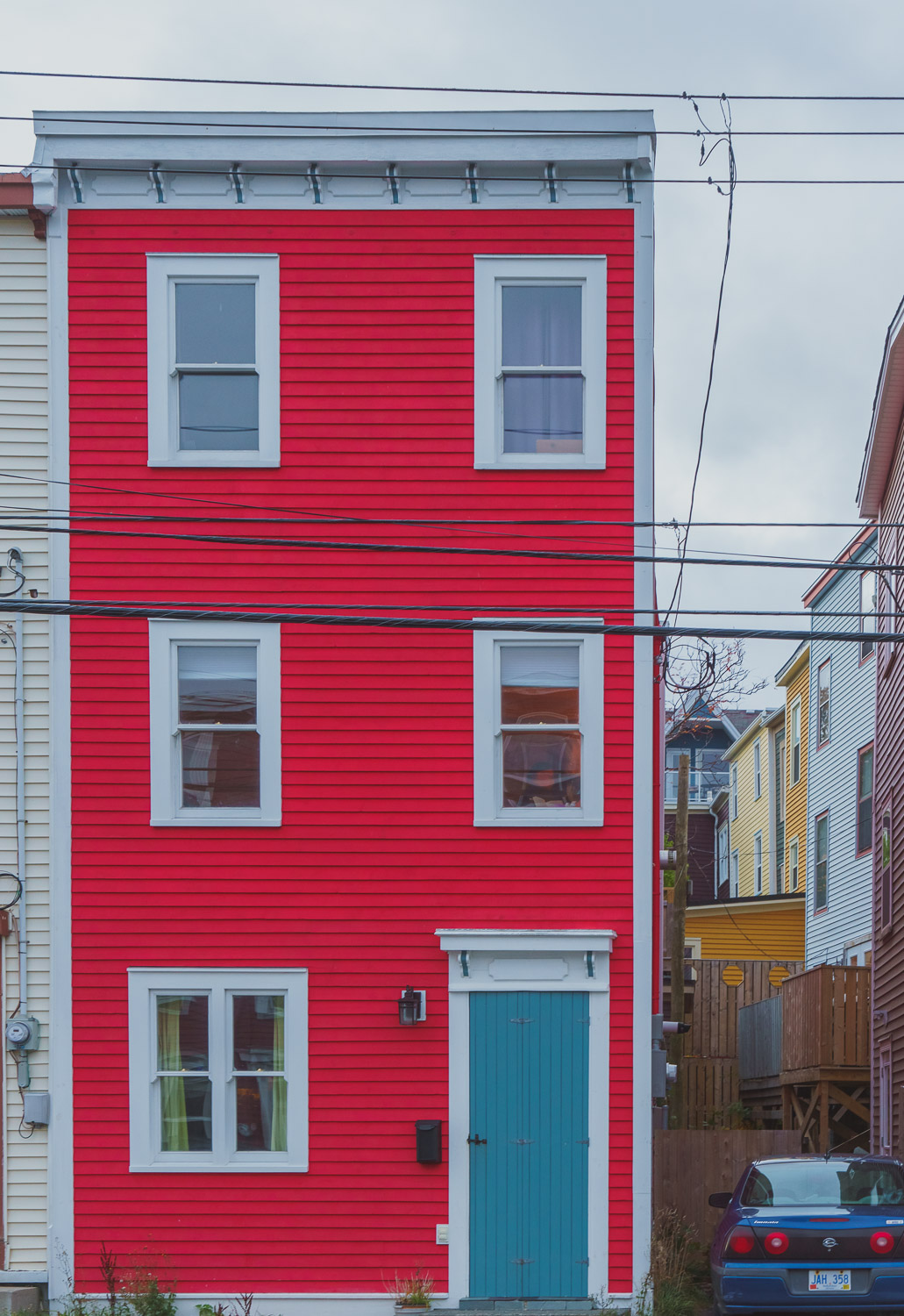 Jelly Bean Row house