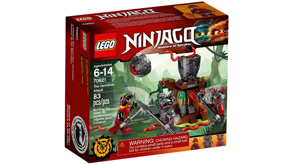 LEGO Ninjago 70621 - The Vermillion Attack