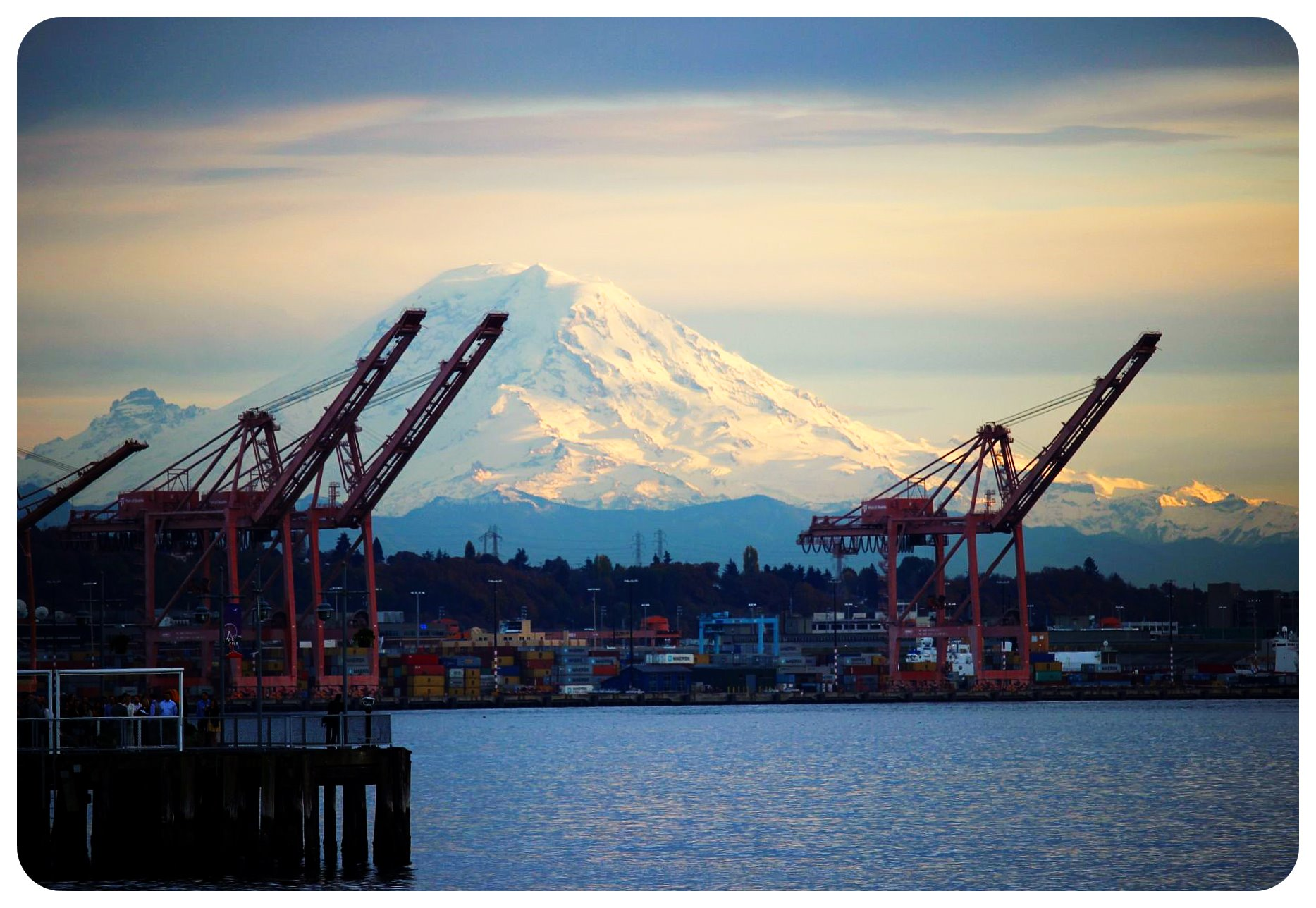 seattle mount rainier view