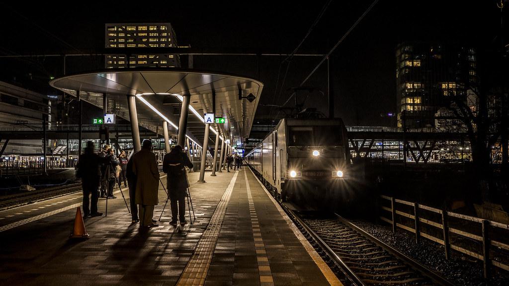 Last CNL   The last night train from Amsterdam to Munich ...