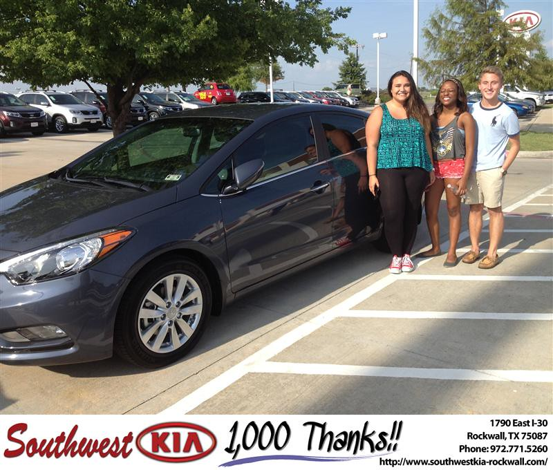 Southwest Kia Rockwall >> Thank you to Lauren Dodge on the 2014 Kia Forte from Kathy… | Flickr