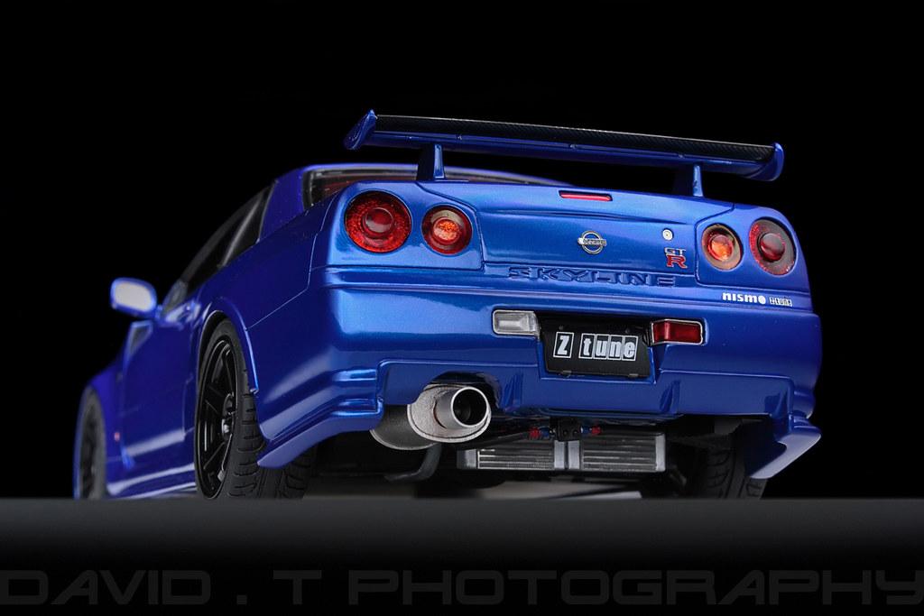 Nissan Skyline Gt R R34 Nismo Z Tune Z2 Hpi Racing 1 1