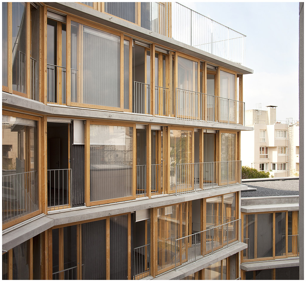 20 logements sociaux babled nouvet reynaud architectes b flickr. Black Bedroom Furniture Sets. Home Design Ideas