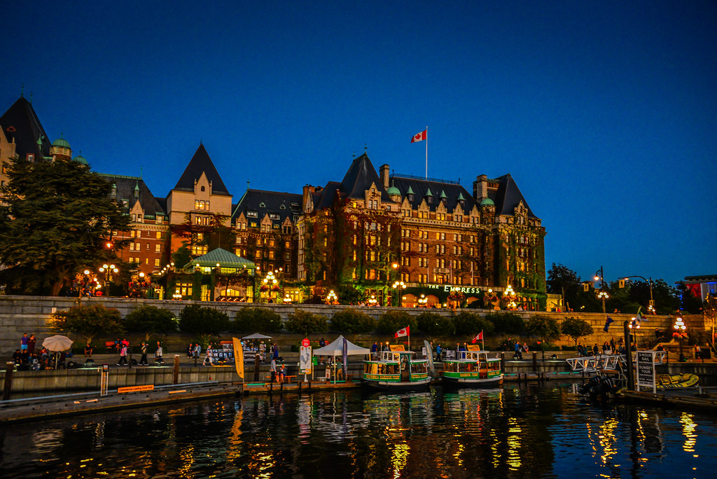 how to get to victoria bc
