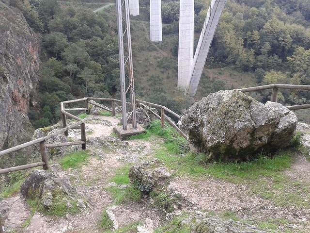 Mirador de Gundián en Ponte Ulla en Vedra