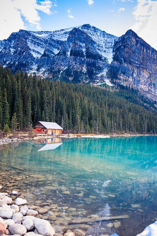 Boat House Lake Louise Alberta Canada Kevin Patrick Robbins Flickr