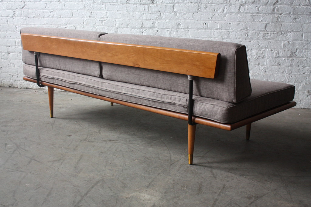 Assured Mid Century Modern Daybed Sofa U S A 1960s