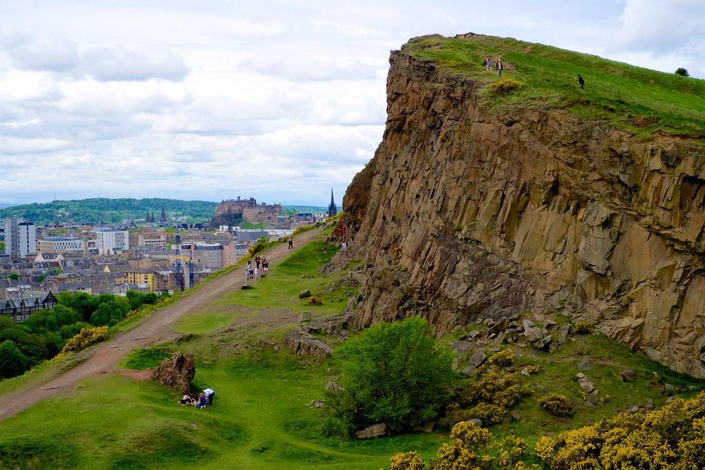 Scotland 2013 41 Edinburgh Hiking Around Arthur S Seat