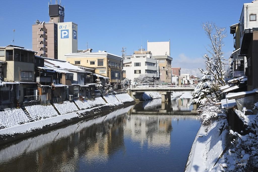 Miyagawa river in Takayama
