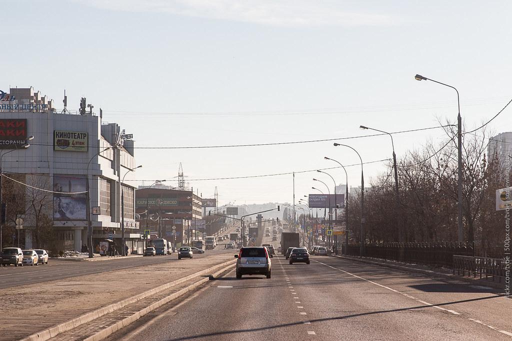 Люблинская улица в Марьино в Москве