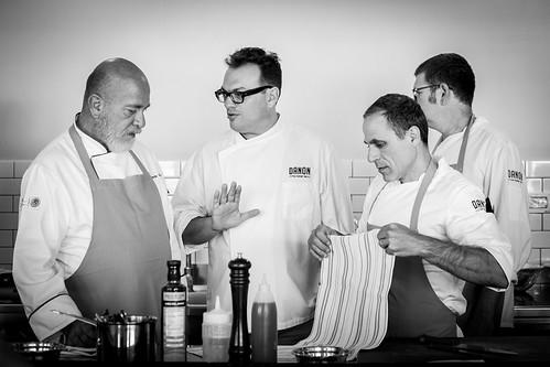 Chef mexicano Gerardo Vázquez Lugo impartió una clase práctica