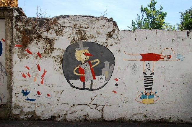Portogallo, Porto -  Rua Miguel Bombarda street art (2)