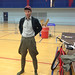 Ryan trying on jodphurs