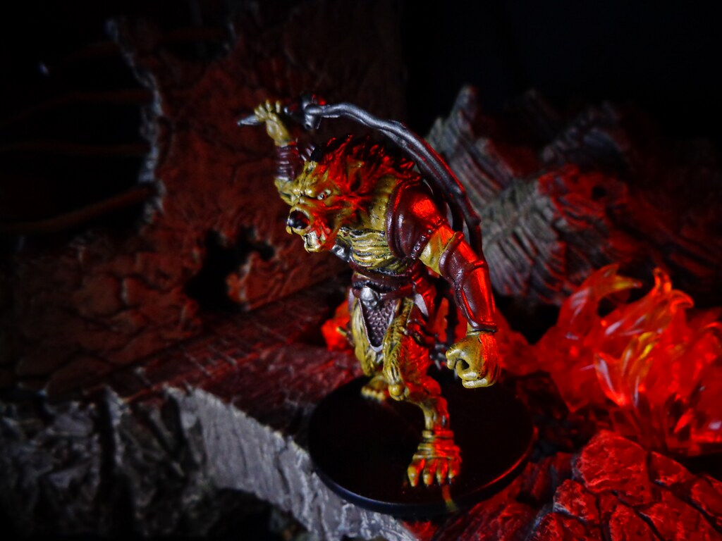 Yeenoghu, Demon Gnoll King | Yeenoghu, foul Demon Lord of ...