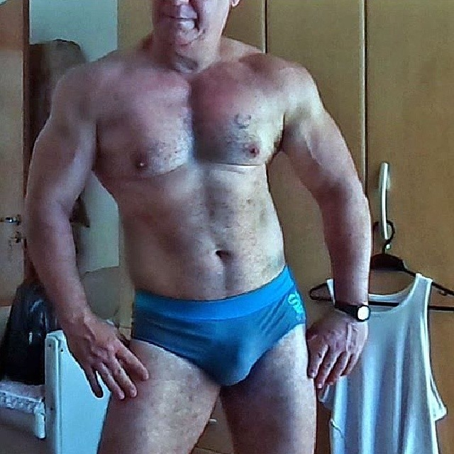 Hairy Older Mature Muscle Men Videos