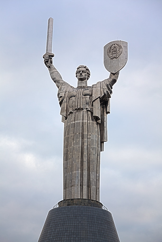 Mother Motherland Kiev At The Museum Of The Great