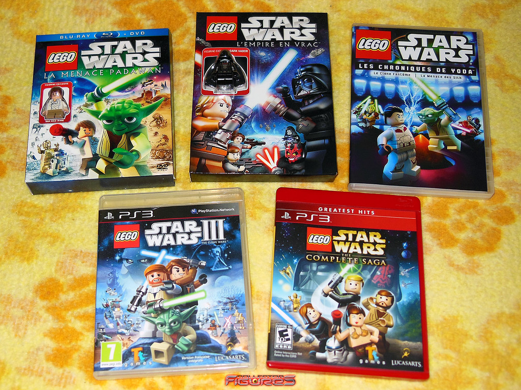 New Lego Games For Ps3 : Lego star wars blu ray dvd vidéo game ps