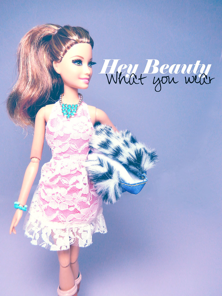 Hey Beauty What You Wear Living For Barbie Style This Flickr