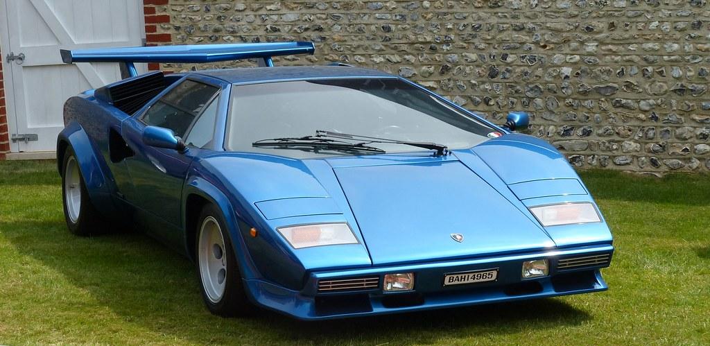 Lamborghini Countach Blue Vr Stkone Flickr