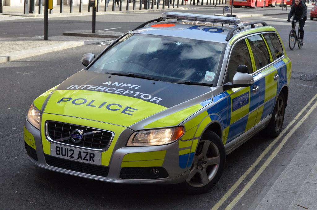 Metropolitan Police Volvo V70 Anpr Interceptor Bu12 Azr