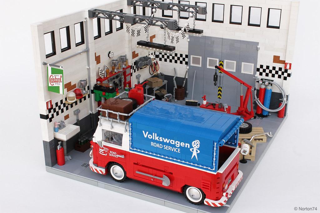 garage life oldtimer volkswagen service and repair wor. Black Bedroom Furniture Sets. Home Design Ideas