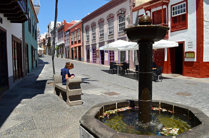 Historic street, Santa Cruz de La Palma