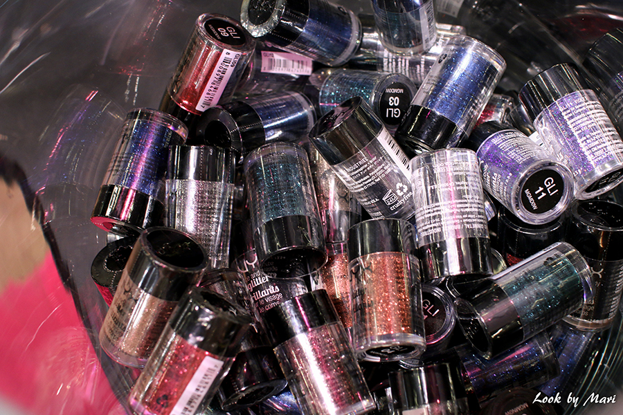 11 Nyx loose glitters irtoglitterit new i love me messut