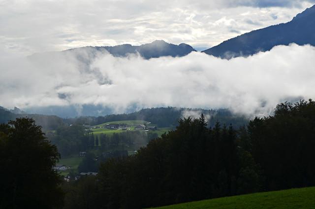 Cloudy morning, Bischofsweisen, Bavaria