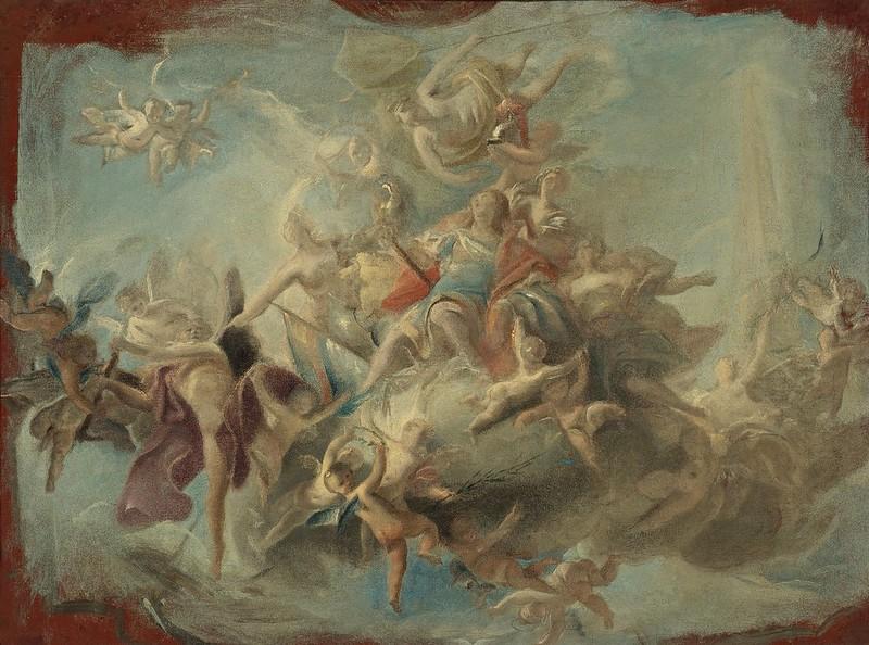 Carlo Innocenzo Carlone - The apotheosis of a hero