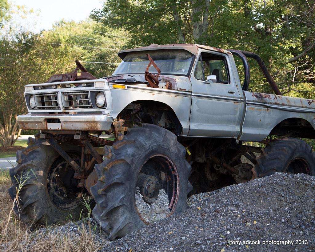 Homemade Monster Truck | tony adcock | Flickr
