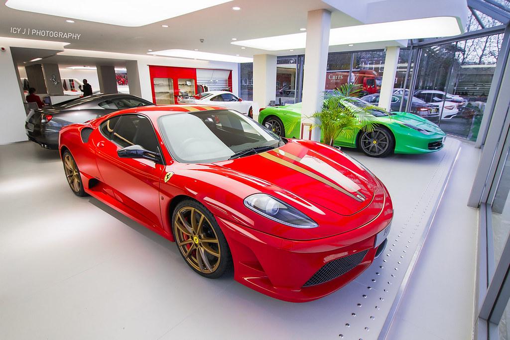 Christmas ferrari f430 scuderia red green grey for Ferrari christmas