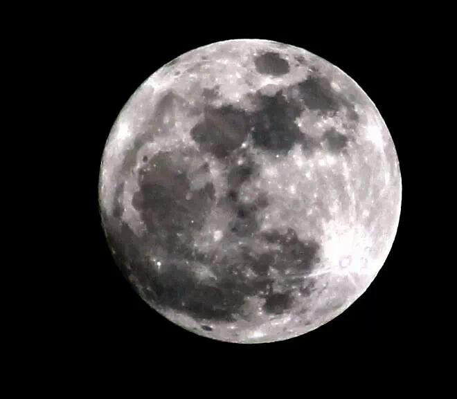 Mooning Over New Missoni: Full Moon Over West Fife Scotland January 15th 2014