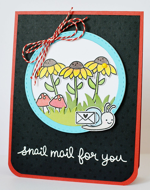 Snail mail for you