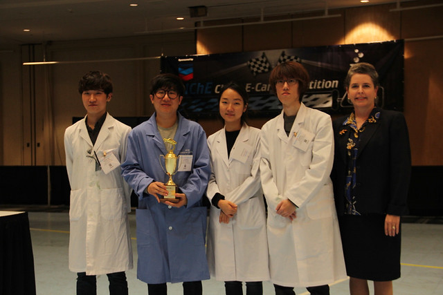 Korea's KAIST wins first place with a score 11 cm.