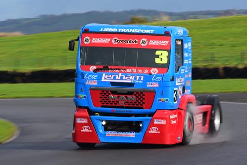 Steve Powell, MAN - 12000, British Truck Racing Championship, Pembrey 2016