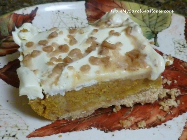 Pumpkin Toffe Dump Cake ~ From My Carolina Home