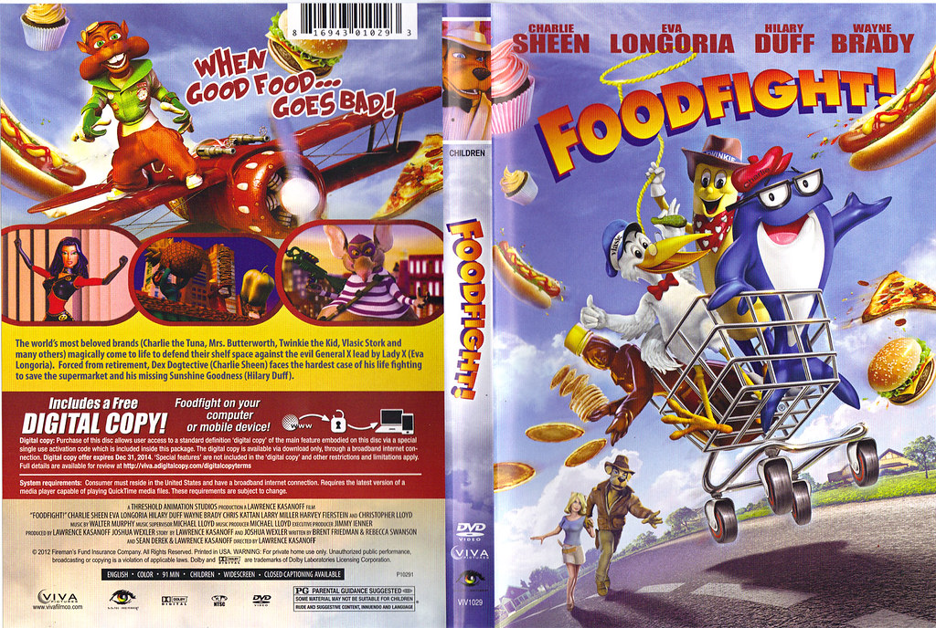 food fight movie dvd