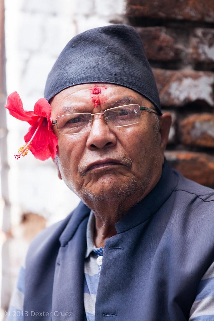 nepalese man a nepalese man in kathmandu nepal 169 2013