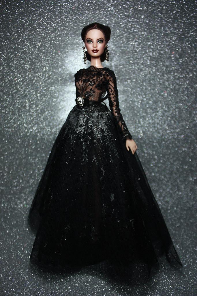 My Repainted Barbie Doll As Vampire Bride Base Model Mo Flickr