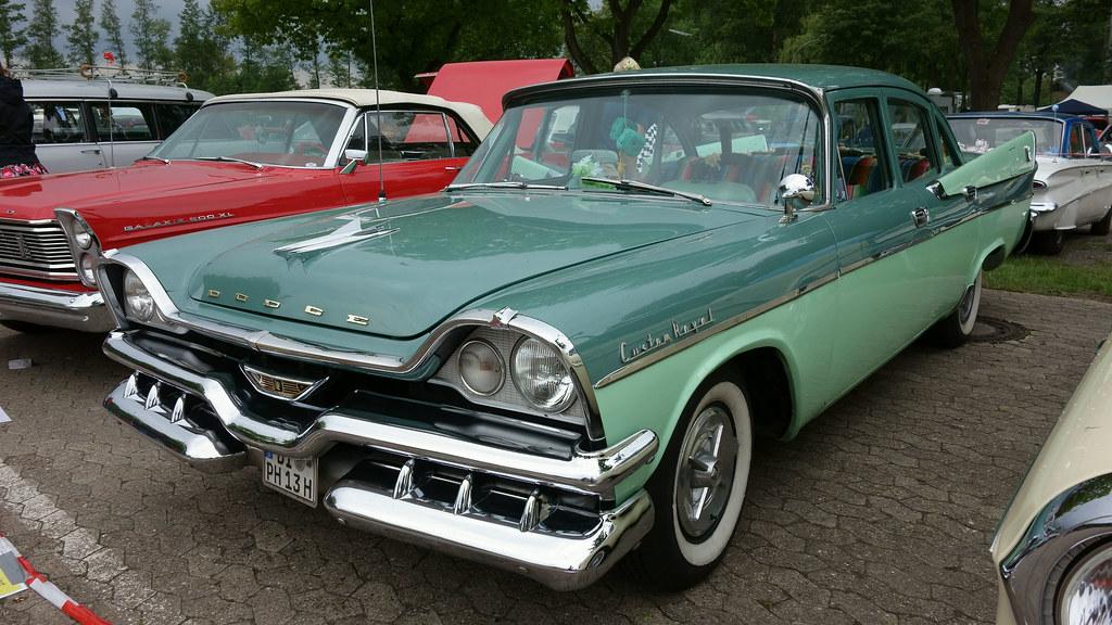1957 Dodge Custom Royal 4-Door Sedan | Opron | Flickr  1957 Dodge Cust...