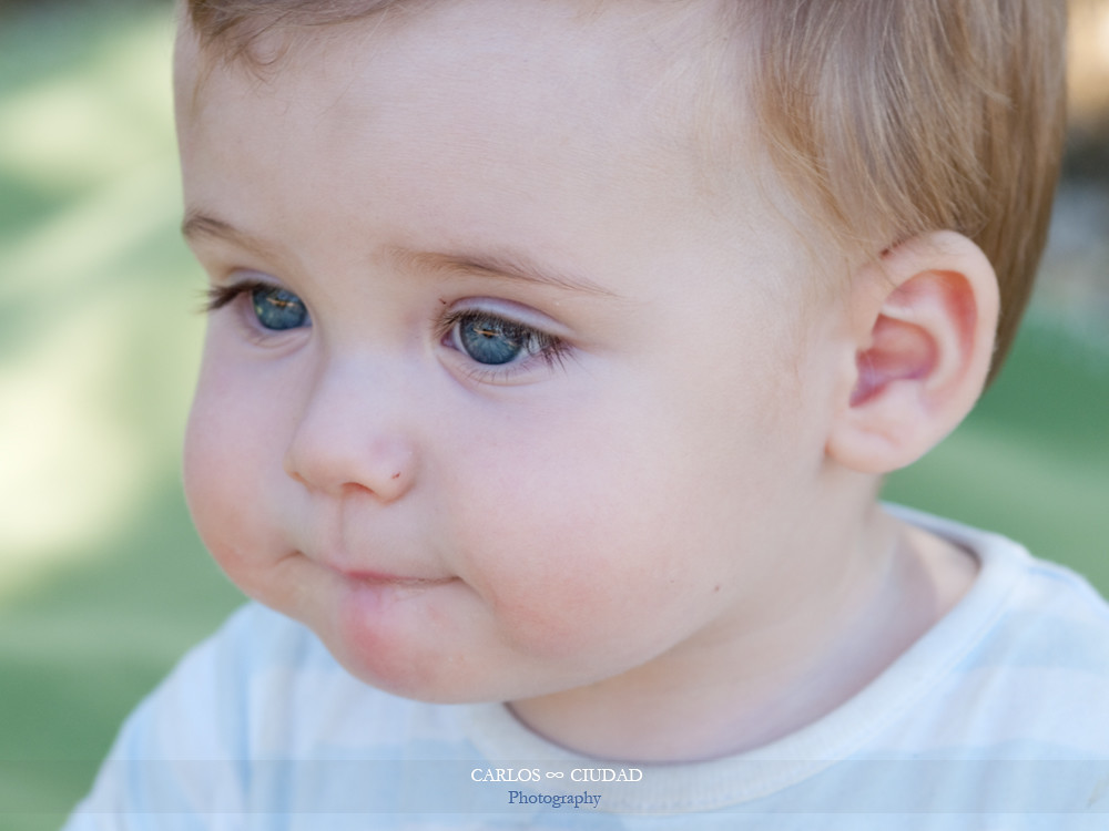 Blue eyed baby boy with cute face | Taranilla, León ...