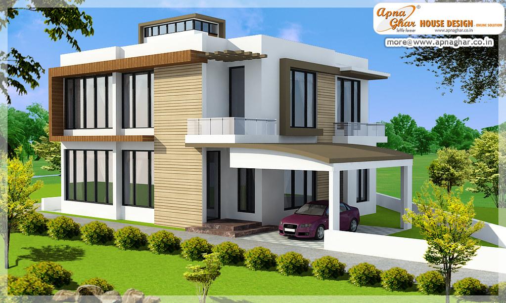 Apnaghar House Design: Beautiful Duplex House Design Like