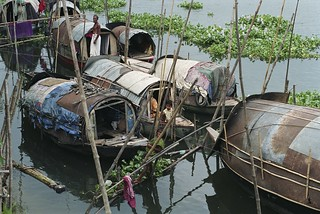 House boats along the river | by World Bank Photo Collection