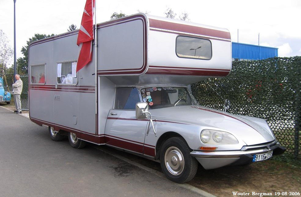 citro n ds 21 ie camping car bindet 1970 eurocitro 2006 l flickr. Black Bedroom Furniture Sets. Home Design Ideas