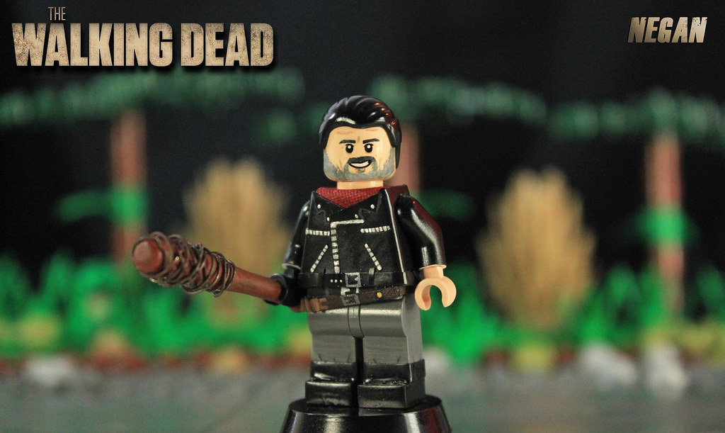 custom lego the walking dead negan welcome to a new. Black Bedroom Furniture Sets. Home Design Ideas