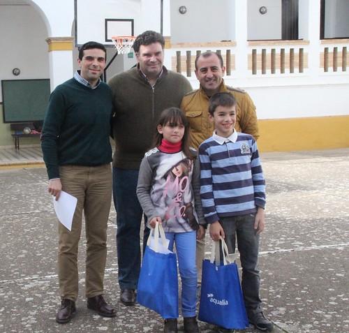 AionSur 31302156246_5b987f259f_d Dos alumnos del colegio Los Grupos de Morón de la Frontera ganan el Certamen Internacional de Dibujo de Aqualia Provincia