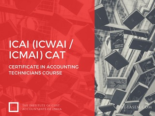 ICMAI CAT 2017 – Certificate in Accounting Technicians Course