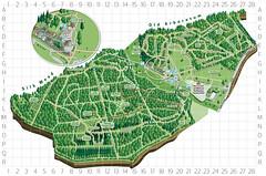 Map of Westonbirt Arboretum by The Westonbirt Project at Westonbirt Arboretum