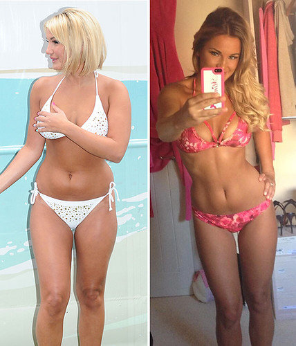 Sam Faiers before and after weight loss bikini pics - she looks AMAZE ...